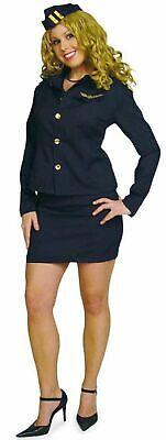 ardess Flugbegleiterin Uniform Hostess 3tlg. Gr.36-42 Fasching (Süßes Kostüm)