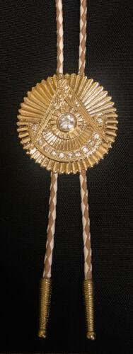 Deluxe Masonic Past Master Bolo Tie (PMBT-3)