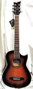 NEW! - Martinez Acoustic Cutaway Guitar with pick up & Gig Bag Burwood Whitehorse Area Preview
