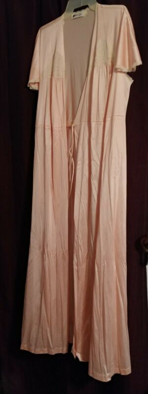 Vintage Peach Colored Robe
