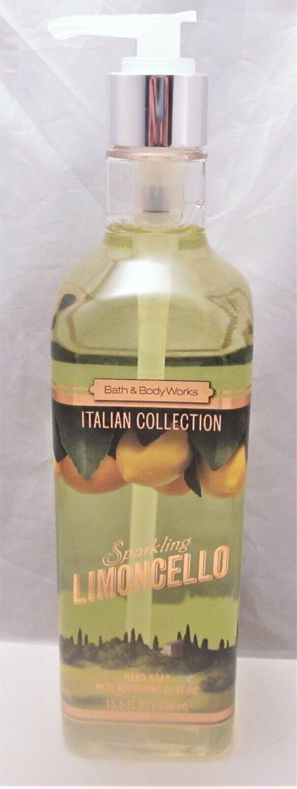 Bath and Body Works Sparkling Limoncello Luxury Olive Oil Ha
