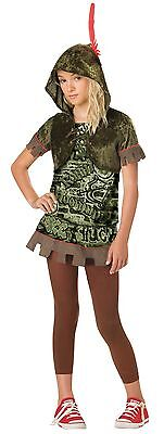 Robin Hood Hoodlum Girls Costume Size Medium 10-12 - Robin Hood Costume For Girls