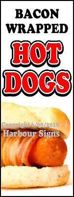 Hot Dogs Decal Choose Your Size Bacon Concession Food Truck Vinyl Sticker
