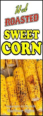 Roasted Sweet Corn Decal Choose Your Size Concession Food Trucks Sign Sticker