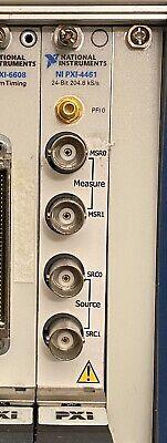 National Instruments Ni Pxi-4461 2-input2-output Dynamic Signal Analyzer