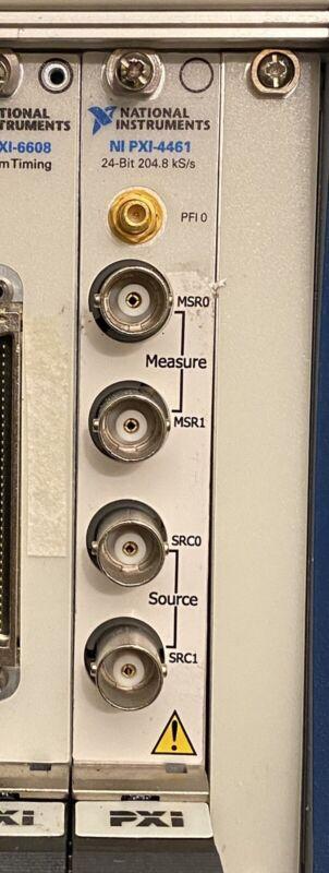 National Instruments NI PXI-4461 2-Input/2-Output Dynamic Signal Analyzer