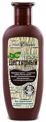 Shampoo mit natürliche Birkenteer Extrakt Birkenteere шампунь Дегтярный