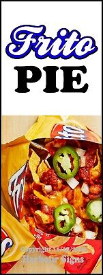 Decal Sticker Frito Pie Choose Your Size Food Truck Concession Vinyl