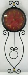 Howard Miller 625-392 Addison Wall Clock W Cast Decorative Pendulum
