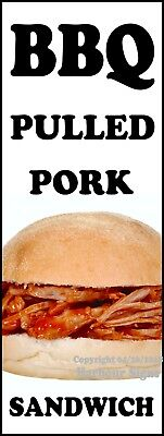 Bbq Pulled Pork Decal Choose Your Size Concession Food Truck Sign Sticker