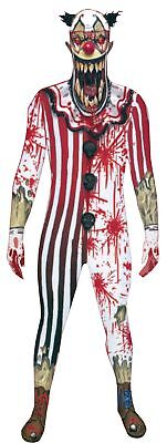 Morph Jaw Dropper Clown Adult Costume Skinsuit Morphsuit - Morph Kostüm Clown