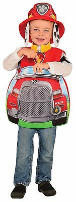 Kids Marshall Costume Paw Patrol Fireman Marshal Toddler Child 3D Candy - Firemen Costumes