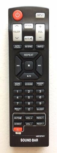 New Usbrmt Remote Akb73575401 For Lg Sound Bar Nb5540a Nb5541 Nb2430a Nb4540