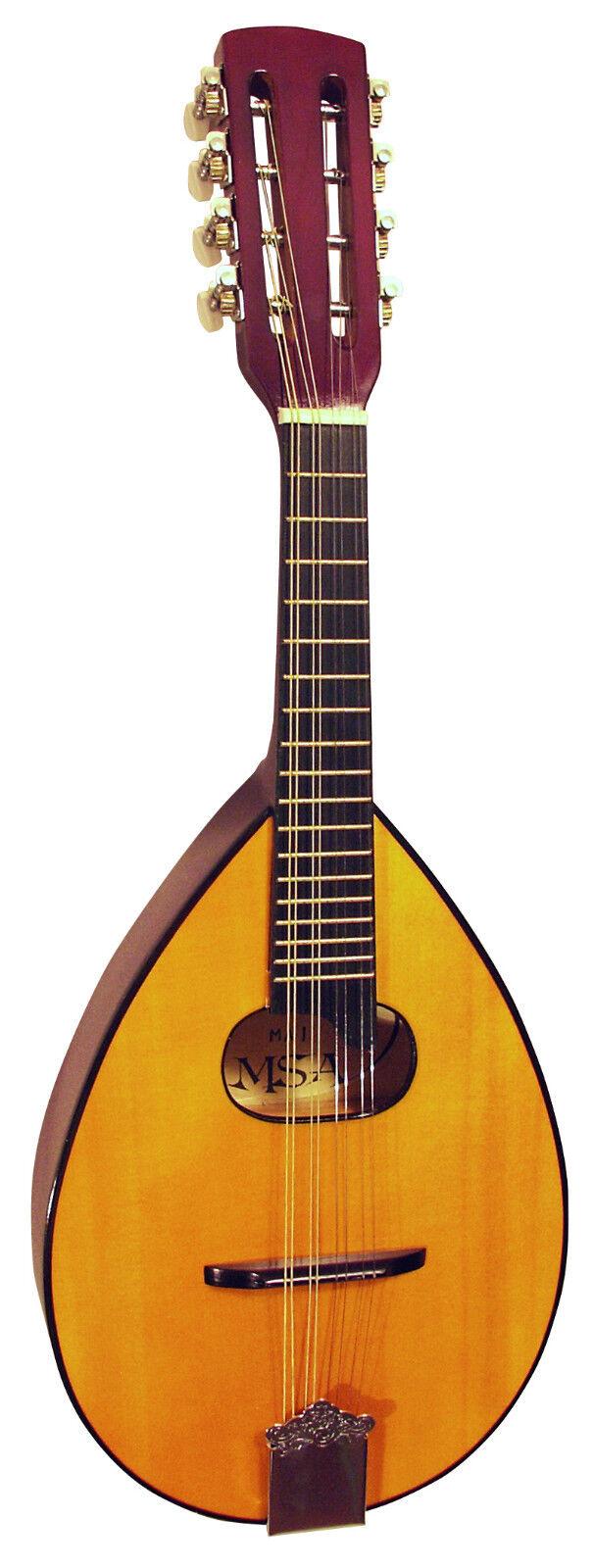 Mandoline, Flachbauch in zwei Modellen natur oder sunburst, mit Tasche!n