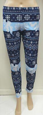 My Little Pony Ugly Christmas Navy Blue Legging- Size Medium  - Ugly Christmas Leggings