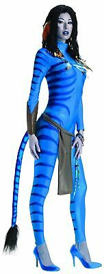 Secret Wishes Avatar Neytiri Costume, Blue, Large (10/14) Halloween NEW WOMENS](Avatar Womens Costume)