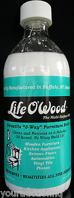 Life O'Wood Cleaning Polish-Floors,Tiles,Furniture,Appliances,Countertops