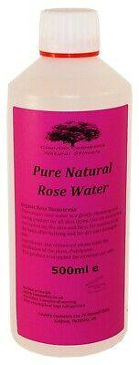 500ml PURE NATURAL ROSE FLORAL WATER