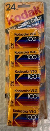 Kodak Kodacolor VR-G 100 ISO 24 exposure - Expired 35mm Film 1988/1989- 5 rolls