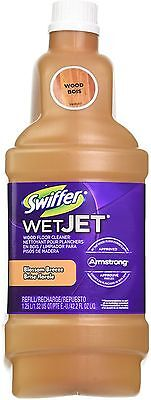 Swiffer Wetjet Wood Floor - Swiffer WetJet Wood Floor Cleaner Refill, Blossom Breeze 42.20 oz (Pack of 2)