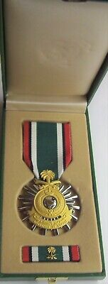 Kuwait Liberation (Saudi) Military Medal Set in Presentation Case