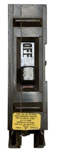 20 Amp Circuit Breaker, Wadsworth WA20, Single Pole