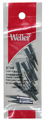 10-pack Weller Pta7 Soldering Screwdriver Tip 116 Inch Wtcp Station-special