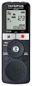 New Olympus VN-7700 Digital Voice Recorder Dictaphone  2GB Memory Black