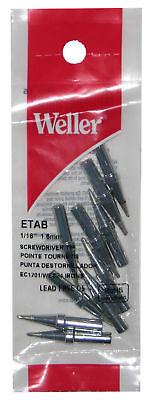 10-pack Weller Etb Chisel Original Solder Tip For Pes51 Wes51- Special