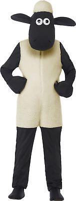 Shaun das Schaf Kinder Kostüm mit Weißen Overall & - Shaun Das Schaf Kostüm Kind