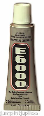 E6000 1oz 29.5ml Glue Industrial Strength Adhesive Jewelry Clothing Rhinestones