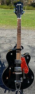 2007 Gretsch G5120 Electromatic Hollow Body Electric Guitar W/HSC Black Electromatic Hollow Body Guitar