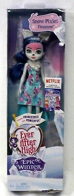 Mattel Ever After High Epic Winter Snow Pixies Foxanne New Sealed