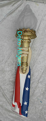 Amerikanische Wandfackel Fackel Freiheitsstatue USA Hand Wandlampe Licht 23R