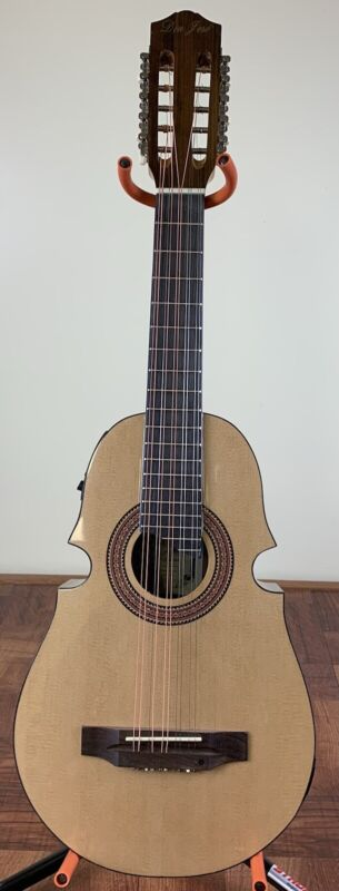 Cuatro De Puerto Rico Don Jose, Acoustic-Electric With Pickup, Tuner & Bag.