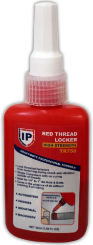 Hold tight thread lock red permanent 50 ml hunting accessories upgrades bolts.