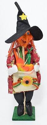 Dekofigur Hexe Halloween Hexenfigur Gartenfigur Herbst Deko