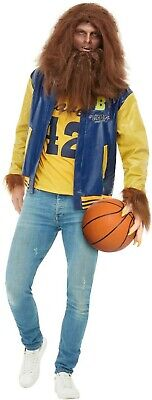 Men's 1980's Michael J Fox Teen Wolf Fancy Dress Costume Stag Theme Halloween  ](1980s Themed Halloween Costumes)