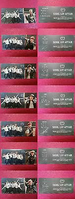 LOT of 7 BTS Official PHOTOCARD Skool Luv Affair 2nd Album Bangtan Boys Full Set