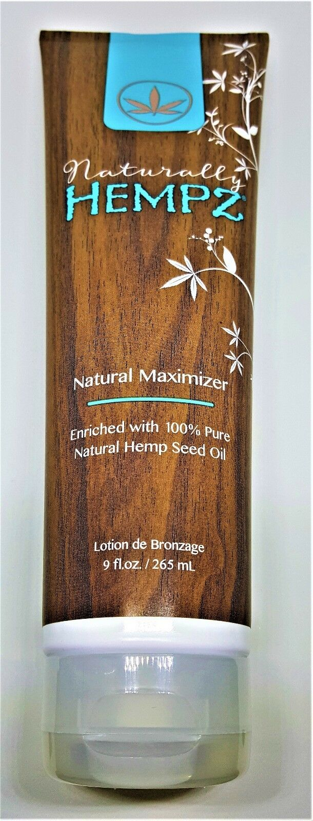 Naturally Hempz, Natural Maximizer, Tanning Lotion 9 Ounce