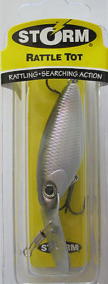 "Crankbait Lot of 2 STORM Rattle Tot 2 1//4/""    3//8 oz"