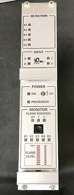 Fps Fossil Power Systems Model 9160 2018 Flame Monitor Detector Module