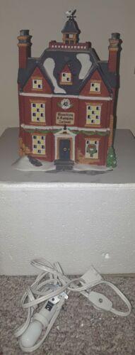 Dept 56 Dickens Village Series Boarding and Lodging School 5810-6