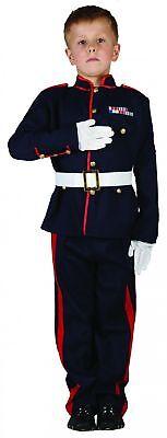 Offiziers-Kinderkostüm für Jungen blau-rot-weiss Cod.202844
