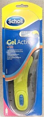 Scholl Einlegesohlen GelActiv Work Woman (Gr.35.5-40,5), 1 Paar NEU + OVP