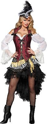 High Seas Treasure Pirate Adult Womens Costume Sexy Boat Theme Party Halloween ()