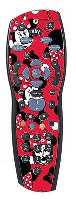 Minnie Mouse Sticker/Skin sky+hd Remote controller/controll stickers r11