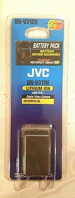 JVC Battery Pack Lithium Ion For Digital Video Camera Rechargeable BN-V312U 1260