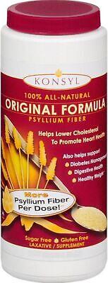 Konsyl Natural Fiber - Konsyl Natural Fiber Supplement Laxative Original Sugar Free 300 g (Pack of 2)