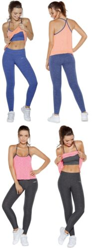 Haby Women's 2 Piece Gym Outfit Loose Tank Matching Leggings
